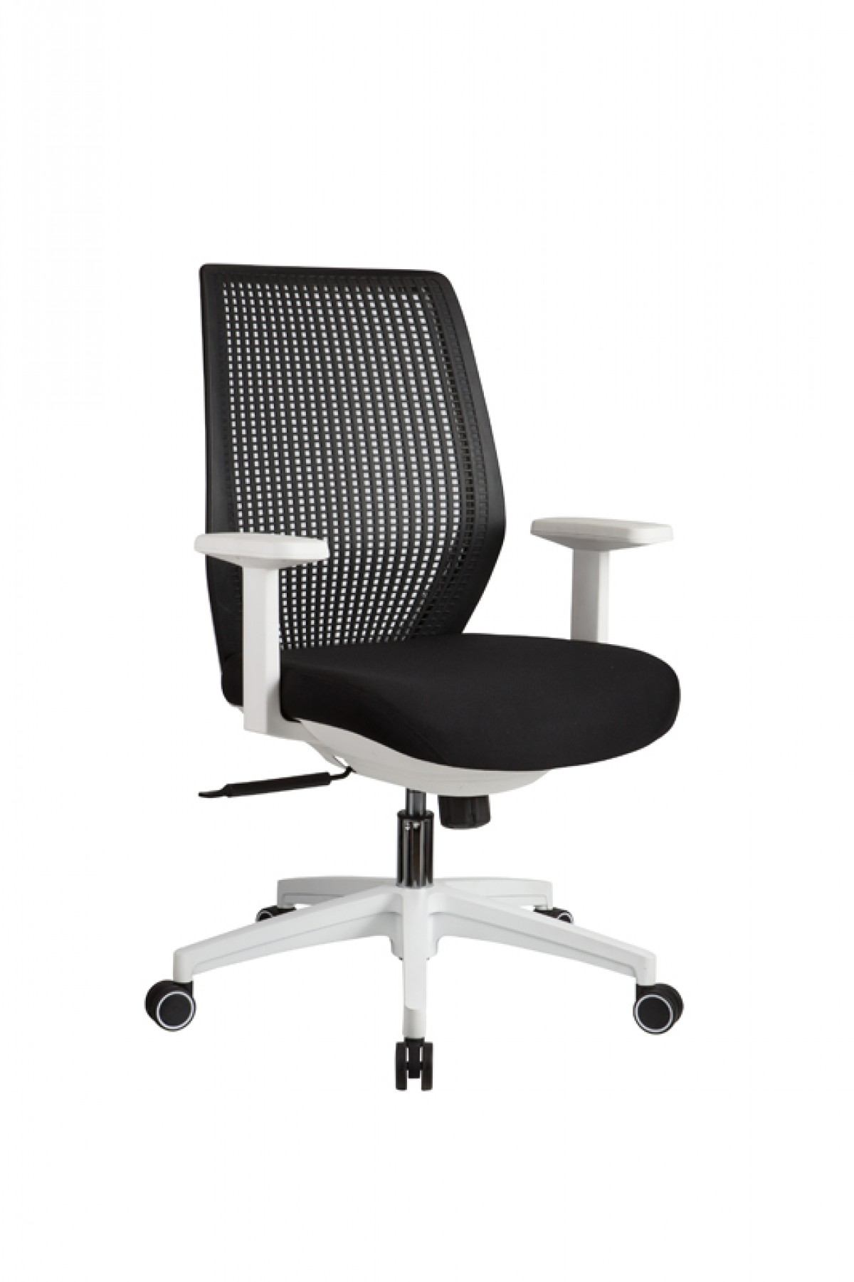 Office Chairs White Modrest Bayer Modern Black And White Office Chair Office