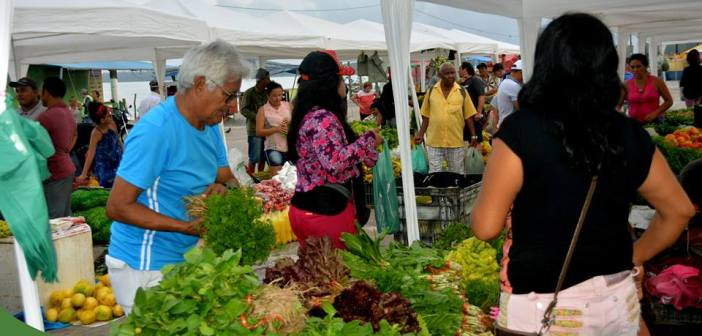 Feira do Agricultor todos os sábados no espaço Cultural