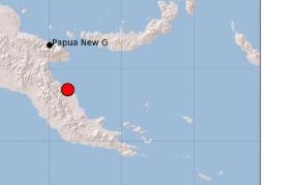 Un terremoto de magnitud 6,0 sacude la región oriental de Papúa Nueva Guinea