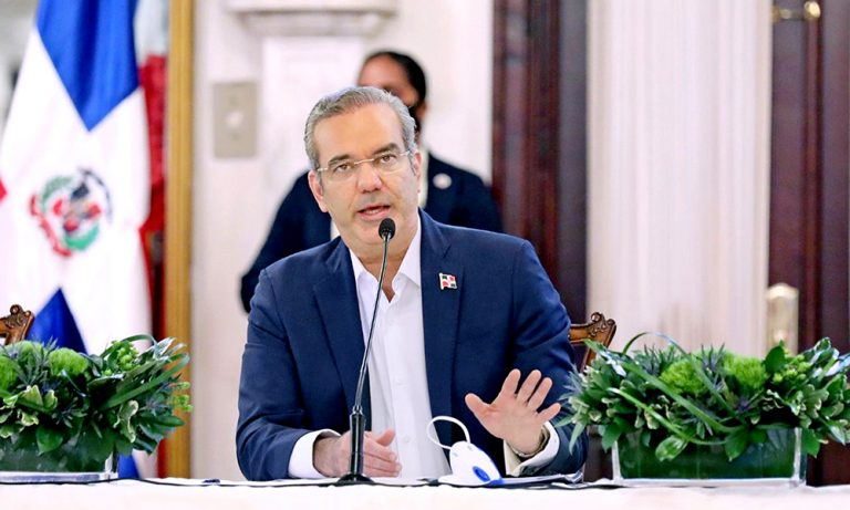 El Presidente Luis Abinader hablará al pais el dia de hoy