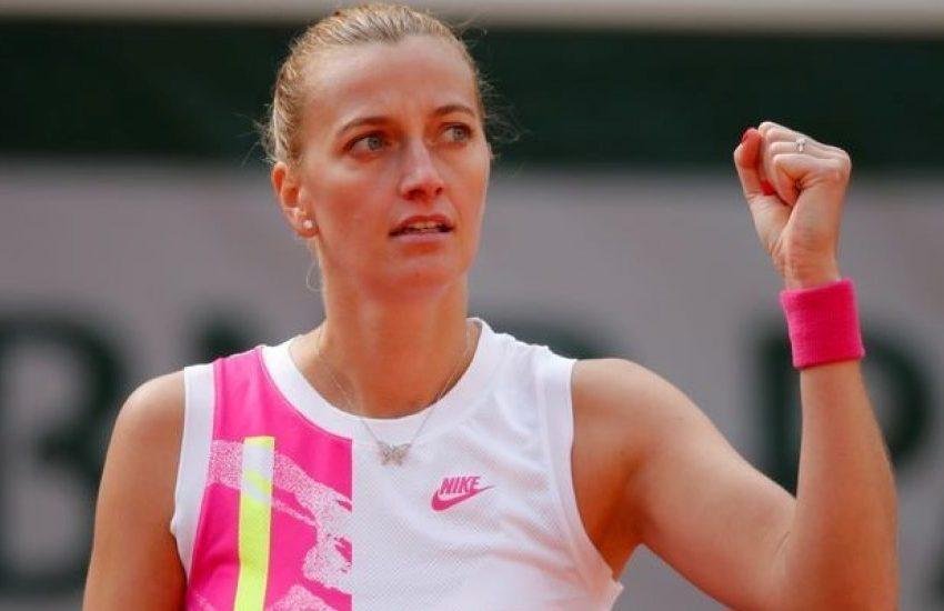 Kvitova frena a Siegemund y se mete en semifinales de Roland Garros