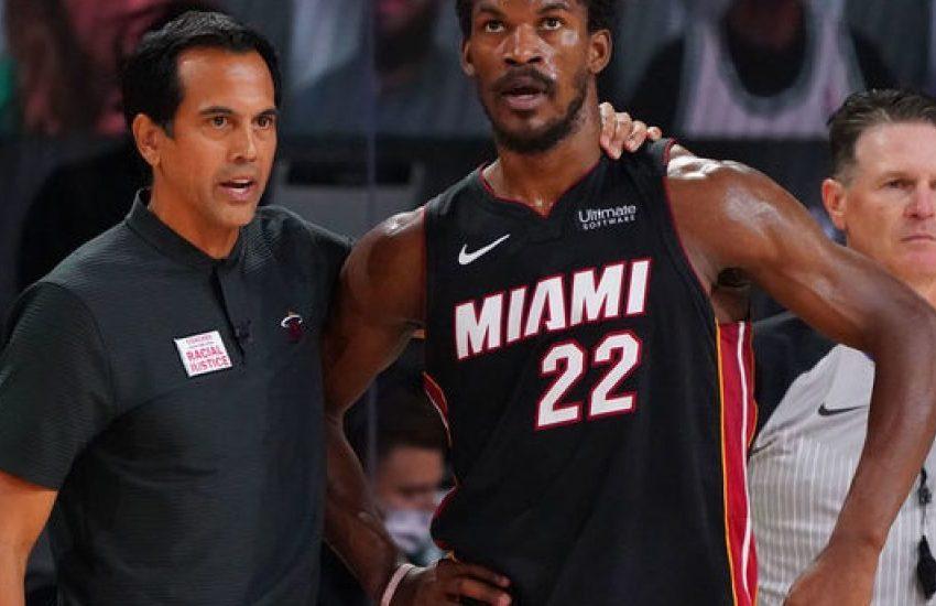 Erik Spoelstra y Jimmy Butler ven posible la remontada ante los Lakers