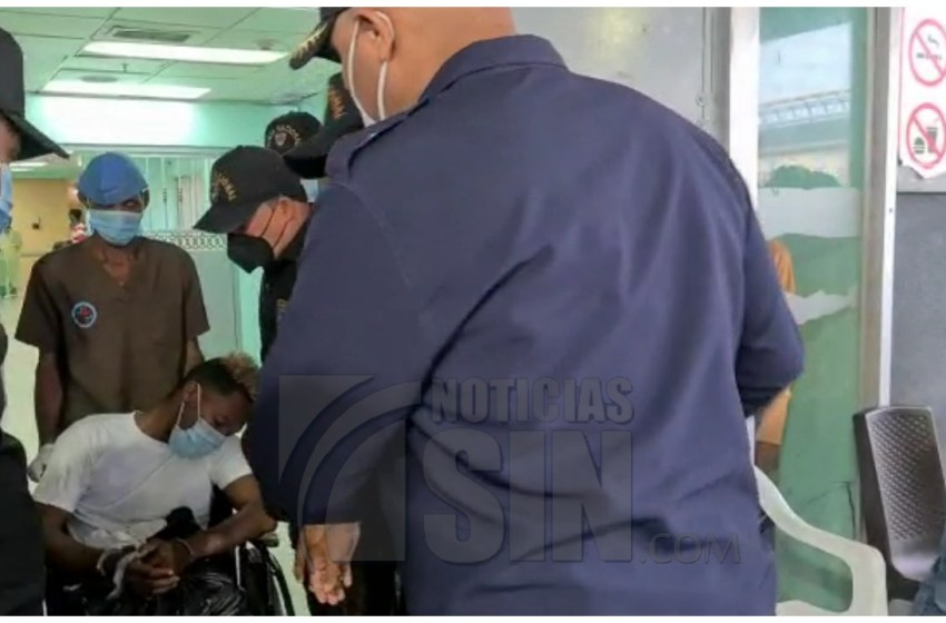 Trasladan del Darío Contreras a Fiscalía SDE a «Deito», para conocerle medida de coerción