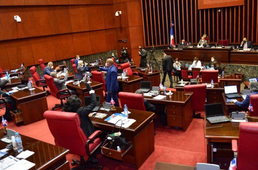 Se desata avispero en el Senado por decisión que solo PRM y PLD son mayoritarios