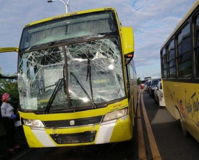 Al menos 28 heridos en accidente de tránsito en La Américas