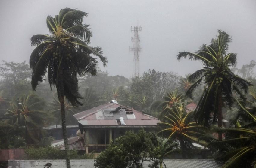 """Huracán """"Eta"""" descarga lluvias, vientos Nicaragua"""