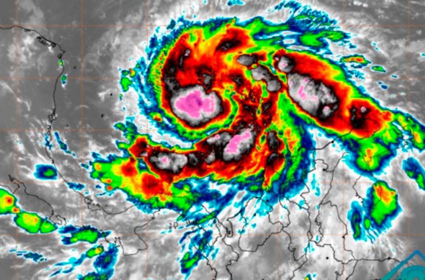 Huracán Iota se acerca a Nicaragua y Honduras