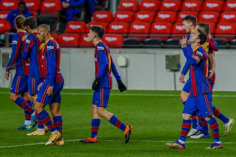 Gol de Messi saca al Barcelona del embrollo