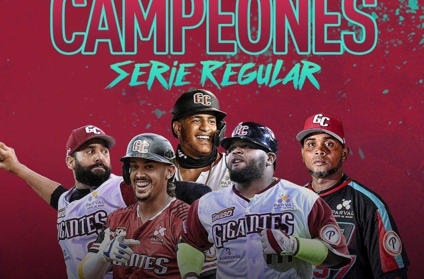Gigantes se quedan con serie regular con su triunfo sobre Los Toros