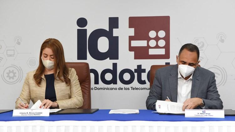 Indotel cede la gestión de locales a Prosoli para instalar Centros Tecnológicos Comunitarios