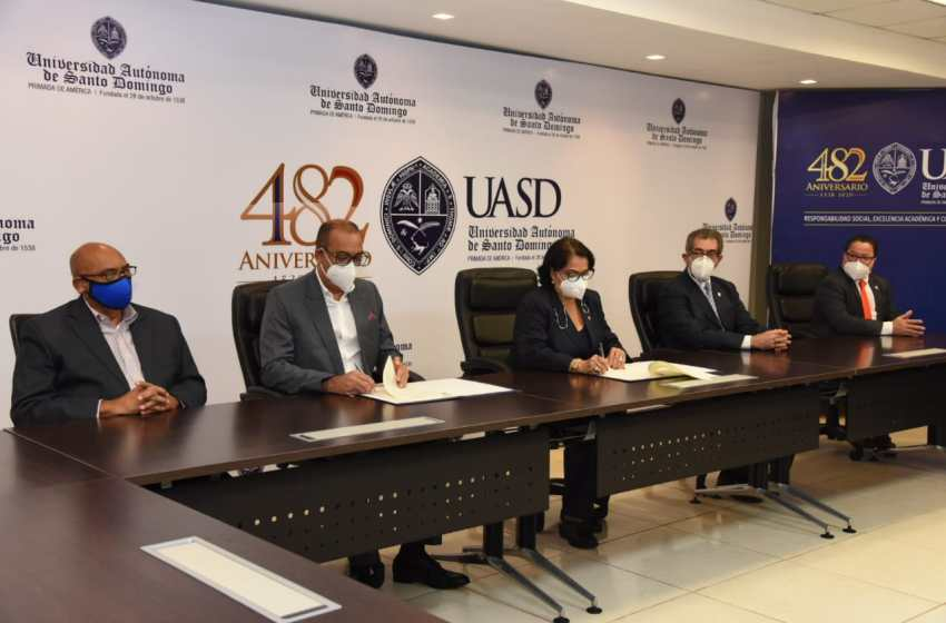 UASD Y Ministerio de Obras Públicas firman acuerdo