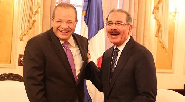 José Tomás Pérez dice por sus méritos Danilo Medina debe ser el nuevo presidente del PLD