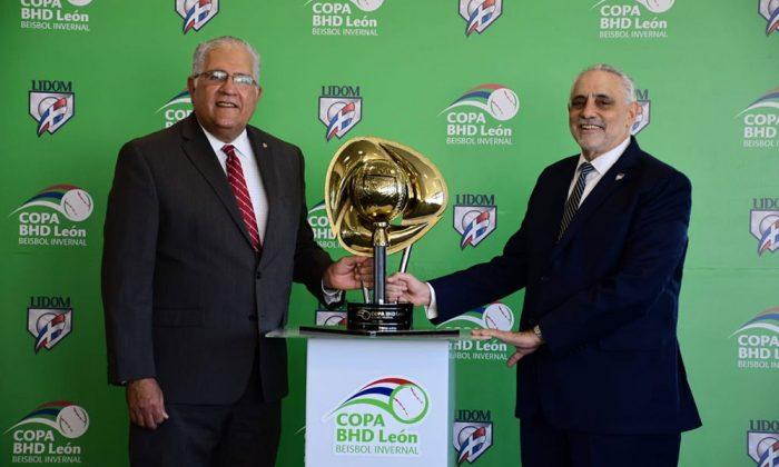 Lidom y BHD presentan la copa que disputan Gigantes y Águilas