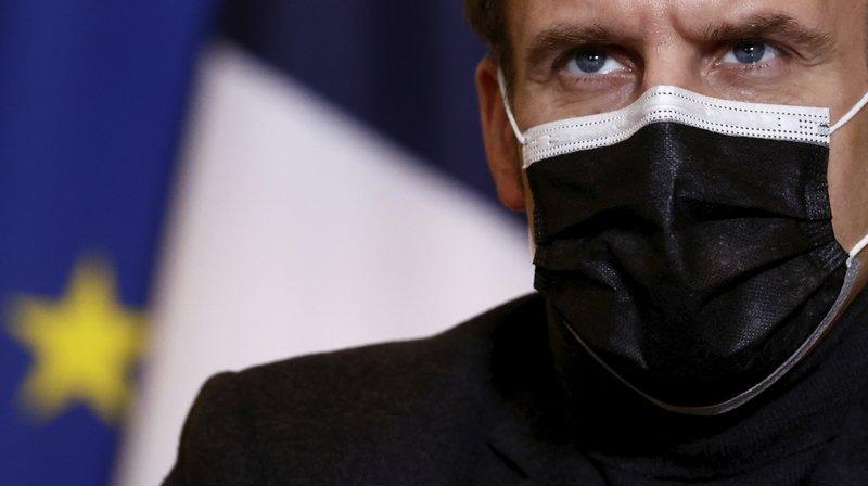 Macron pide intensificar esfuerzo mundial en vacunas COVID