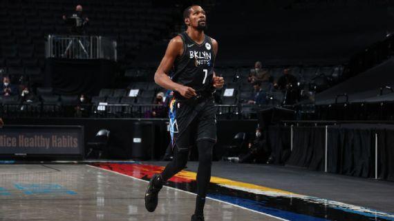 Kevin Durant deja el juego vs Raptors por protocolos