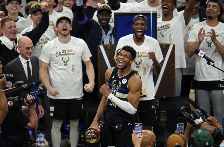 Bucks se coronan campeones NBA, y cortan sequía de títulos de 50 años; vencen a Suns
