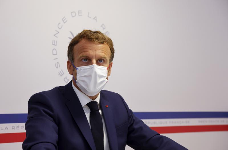 Francia: Macron advierte que crisis del virus no quedó atrás