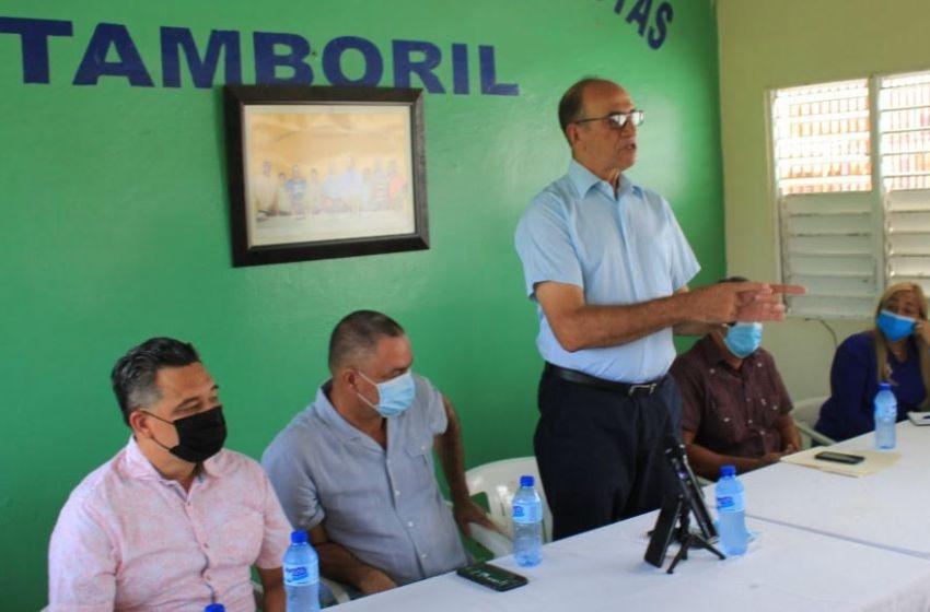 CORAASAN anuncia trabajos para mejorar el servicio de agua potable en Tamboril