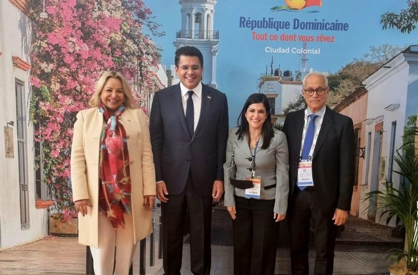 RD reafirma liderazgo en el Caribe al inaugurar pabellón en Feria Top-Resa, Francia.