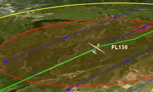 <b>Resolution Advisory</b> When FlightHorizon detects a conflict with another aircraft, the software displays a green line that indicates the best avoidance maneuver; avoidance maneuvers may include directions to turn left or right, climb or descend, speed up or slow down. Includes vocal maneuver instructions to operator to de-conflict the aircraft and then, if a flight plan was previously loaded, return to the original flight path.</p> <h2>