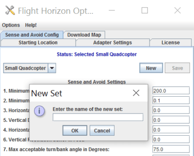 <b>Custom Options Creation</b><p>Addition of the ability to create custom options and save them under a new, unique name in the options drop-down menu.</p>