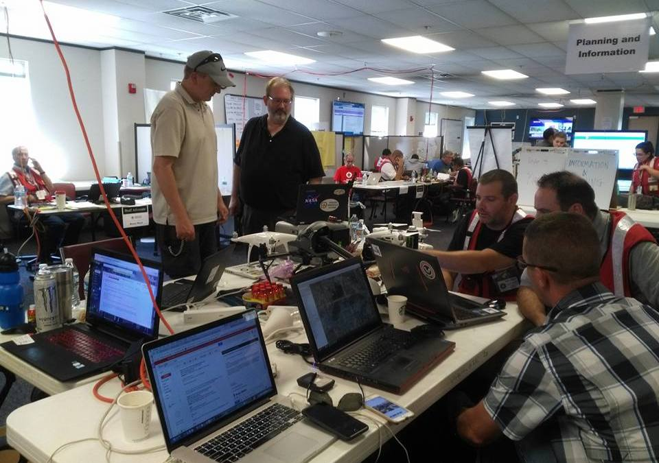 Harvey Unmanned Aircraft Response Team in Houston Trained and Equipped with FlightHorizon for Airspace Safety