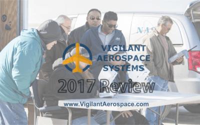 Vigilant Aerospace End-of-Year 2017 Review Video (2 min. 30 sec)