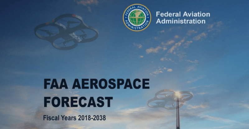 New FAA UAS Forecast Shows Big Growth in Commercial sUAS, Suggests Need for 300K More Remote Pilots