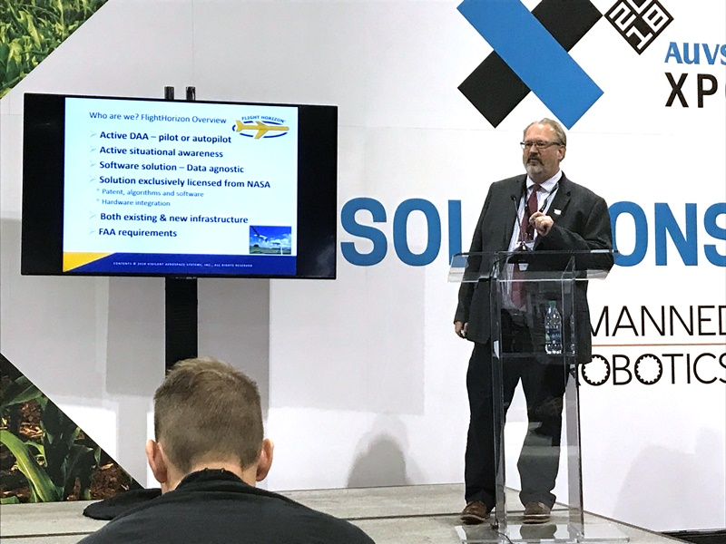 Vigilant Aerospace CEO Presentation at XPONENTIAL 2018: Emerging UAS Tech to Enable Beyond Visual Line-of-Sight and Safe Airspace Integration
