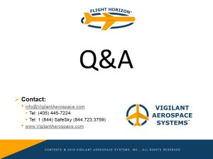 Remote ID for Commercial UAS - Q&A