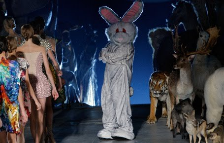 Lady Gaga Channels Alexander McQueen and Mind Control