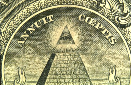 The light behind the All-Seeing Eye on the American dollar bill is not from the sun, but from Sirius. The Great Pyramid of Giza was built in alignment with Sirius and is therefore shown shining right above the Pyramid. A radiant tribute to Sirius is therefore in the pockets of millions of citizens.