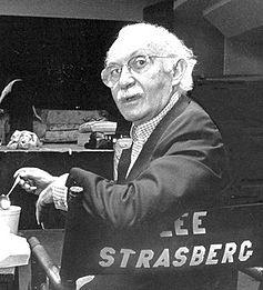 Lee Strasberg, profesor de actuación de Monroe.