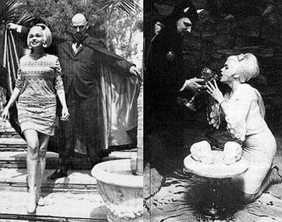Pictures of Mansfield with Anton LaVey