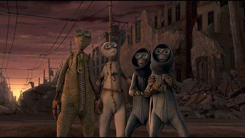 As quatro bonecas que permaneceram vivos para ver a Nova Era são, aliás, os quatro que desafiou regra do 1 e foi para a biblioteca.