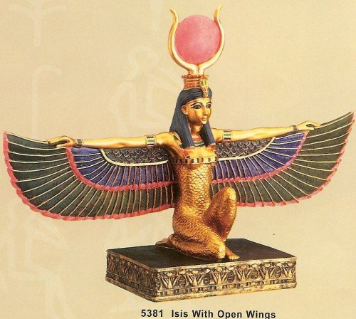 The goddess Isis is one of the most important figures in occult secret societies as she represents the key to the Mysteries.