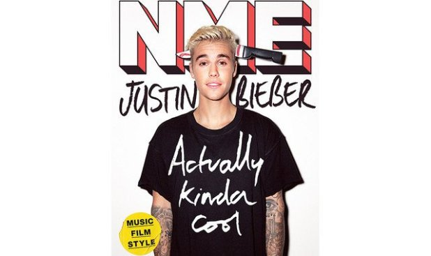 Justin Bieber ainda é forçado a ser exibidos em todos os tipos de situações abusivas em todos os seus photoshoots.