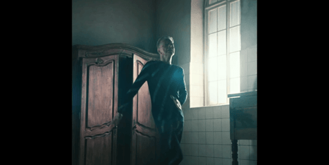 This Bowie is not dying - he even allows himself a few dance moves.