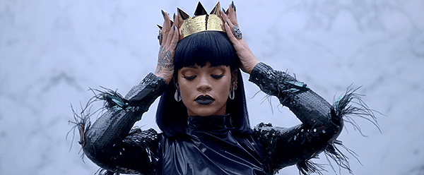 """Rihanna is ready to become an """"Illuminati queen""""."""