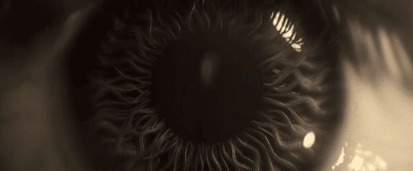 "The title sequence ends with a single eye inside which are tentacles. In short, it was all about the occult elite revealing they control the world and the very movie you are watching, while Sam Smith sings ""Writing's on the wall""."