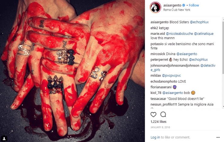 The Occult World of Asia Argento - Anthony Bourdain's ex-Girlfriend