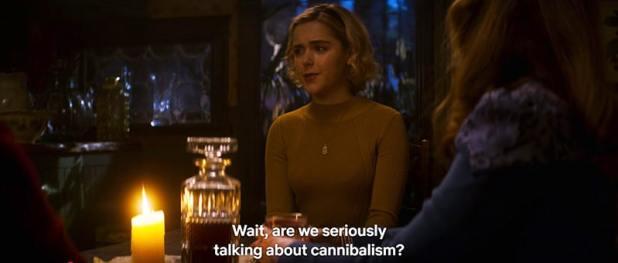 """As mensagens doentias e torcidas em """"Chilling Adventures of Sabrina"""""""