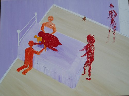 The Complete Gallery of Kim Noble's Paintings About Ritual Abuse