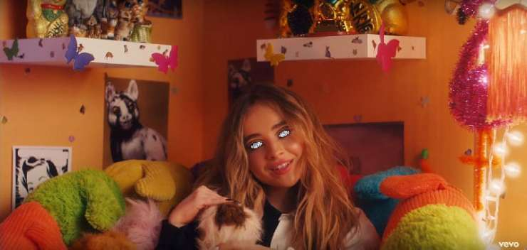 """Sabrina Carpenter's """"In My Bed"""": A Video about the Mind Control of a Young Girl ... Made by Disney"""