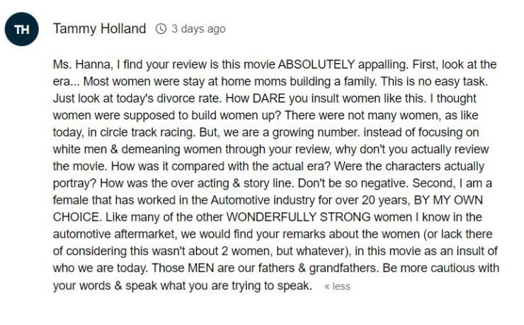 "This Review of ""Ford v Ferrari"" Reflects the Absurdity of Movie Critics Today"