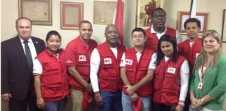 Equipo de agua potable que viaja a Paraguay para colaborar con las actividades de rescate
