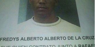 Freddy Alberto de la Cruz, funcionario de la Alcaldía de Bayaguana.