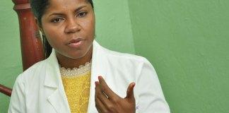 Carmen Ramírez, directora del Hospital Psiquiatrico Padre Billini.