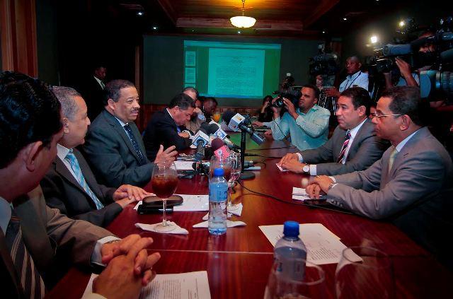 Reunión JCE y comisión de Justicia del Senado