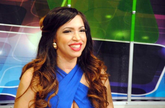 Juliana en el programa de El Pachá